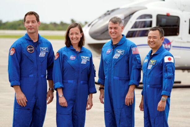 SpaceX Crew 2 members
