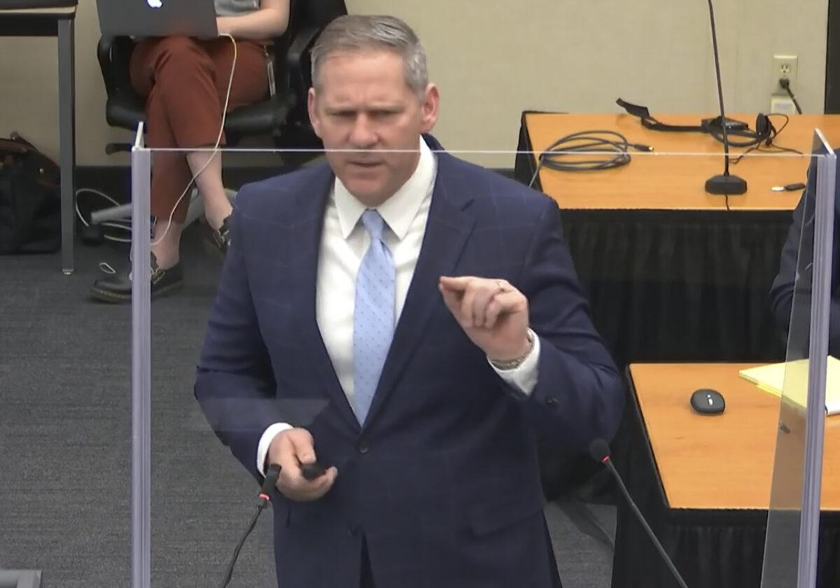 Prosecutor Steve Schleicher