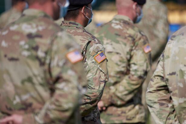 Prajurit Angkatan Darat AS menghadiri pembukaan latihan militer internasional Rapid Trident - 2020 di Wilayah Lviv