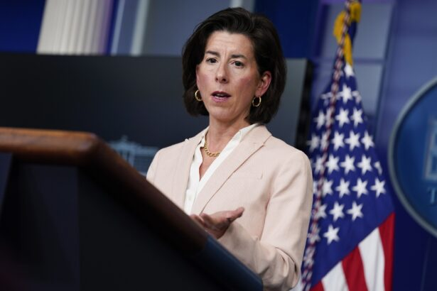 Commerce Secretary Gina Raimondo