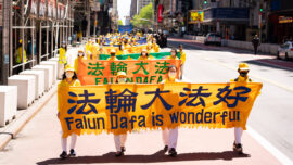 Thousands of Falun Gong Practitioners March Across Manhattan to Showcase Hope and Resilience