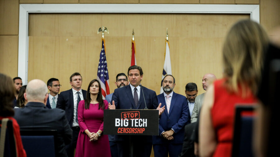 Tech Groups File Lawsuit Against New Florida Law That Stops Big Tech Censorship