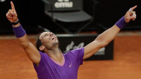 Nadal Beats Djokovic for 10th Italian Open Title