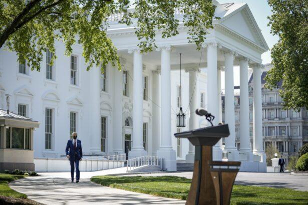 President Joe Biden wears a mask