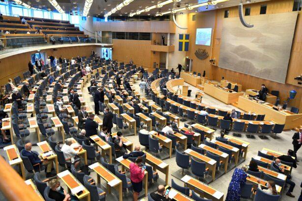 Swedish parliament members