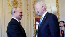 Biden, Putin Meet for Summit