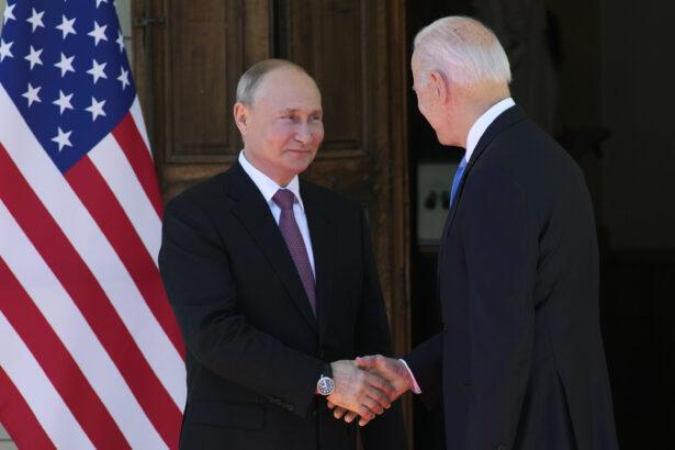 Putin Biden handshake