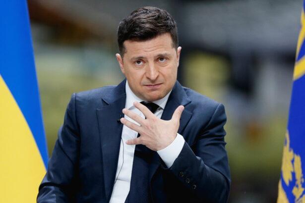 Ukraine's President Volodymyr Zelensky