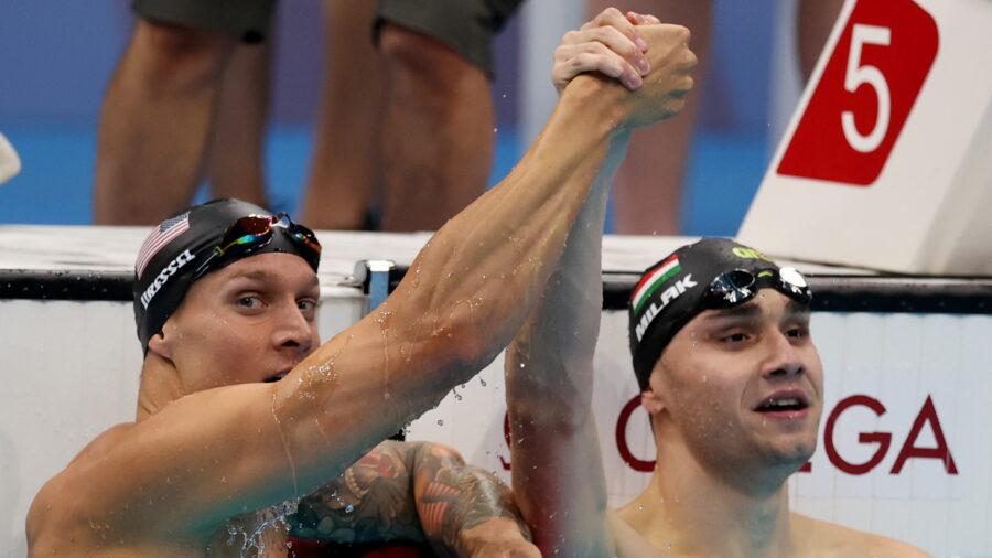 Dressel, Ledecky Add Golds for Team USA