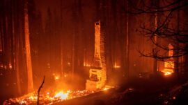 Wildfire Forces Thousands to Flee Popular Lake Tahoe Resort