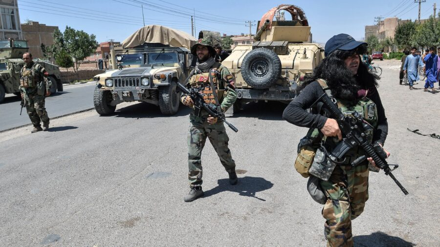 Taliban Seize Attack Helicopter From Afghan Government