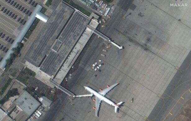 aerial of airport