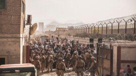 US Marine Battalion Returns from Kabul