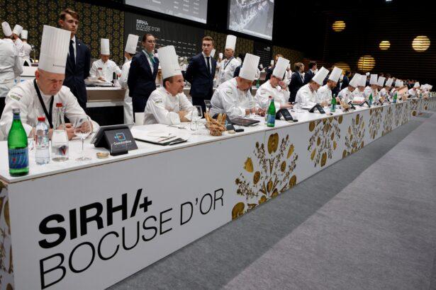 Jury members of the Bocuse d