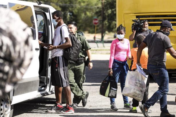 Haitians at border