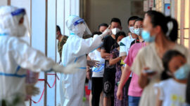 COVID-19 Infection Rise in Southeastern China Prompts New Mass Testing