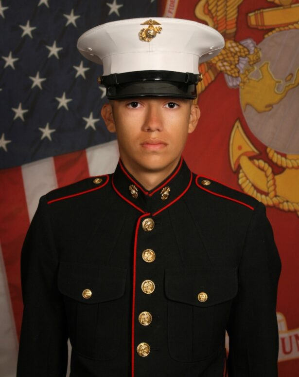 Marine Corps. Cpl. Hunter Lopez