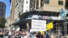 Thousands Gather at 'Freedom Rally' in New York City to Oppose Vaccine Passport